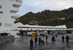 Sarp Sınır Kapısından 4 ayda 1 milyon 663 bin kişi geçti