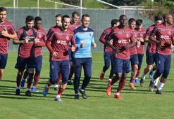 Trabzonsporda Sosa ve Pereira antrenmana çıktı