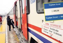 Turistik Doğu  Ekspresi bileti 400 TL