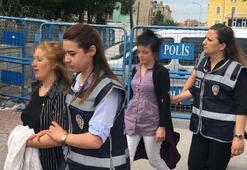 Durakta yakalandılar 15 yaşındaki kız ile 2 kadın...