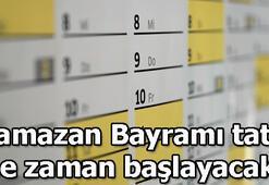 Ramazan Bayram hangi günlere denk geliyor Ramazan Bayramı tatili kaç gün