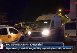 Diyarbakırda yol verme kavgası
