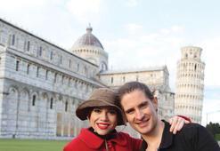 İtalya'da aşk tazelediler