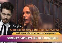 Serenay Sarıkaya aşk iddialarına cevap verdi