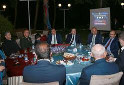 Trabzonspor yöneticileri açılış törenine katıldı