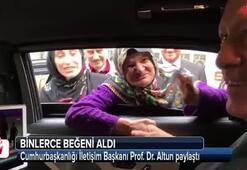 Cumhurbaşkanlığı İletişim Başkanı Prof. Dr. Fahrettin Altun paylaştı