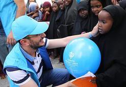 TDVden Somalili çocuklara bayramlık