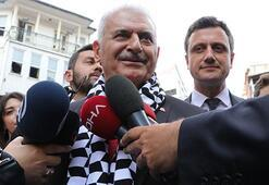 Binali Yıldırım, Beşiktaşta vatandaşlarla buluştu