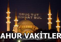 İstanbul, Ankara, İzmir sahur vakitleri | İstanbulda sahur saat kaçta
