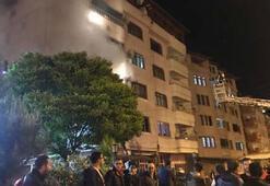 Zonguldakta korkutan yangın