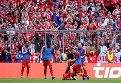 Ribery ve Robben kupayla veda etti...