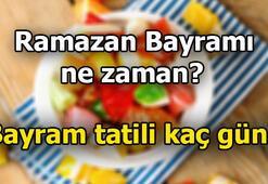 Ramazan Bayramı tatili kaç gün Ramazan Bayramı ne zaman, hangi günlerde