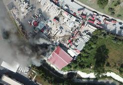 Ayazağada yangın Çok sayıda ekip sevk edildi