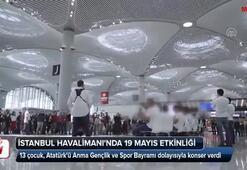 İstanbul Havalimanında 19 Mayıs kutlaması