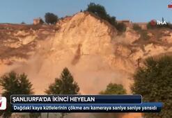 Şanlıurfada dağ yeniden yola çöktü