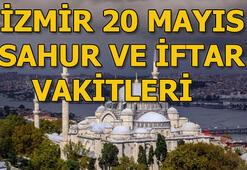 Pazartesi günü İzmirde sahur saat kaçta 20 Mayıs İzmir sahur ve iftar vakitleri