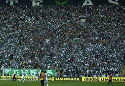 Bursasporda seyirci rekoru kırılamadı
