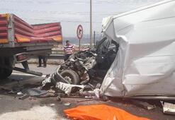 İzmirde zincirleme kaza: 1 ölü
