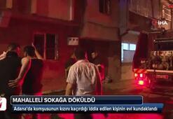 Adanada ev kundaklandı