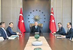 Erdoğan, Amreyev'i kabul etti