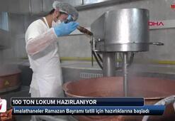 Safranboluda 100 ton lokum hazırlanıyor