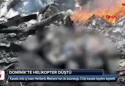 Dominikte helikopter düştü: Ünlü iş insanı dahil 3 kişi öldü
