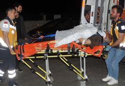 Samsunda kamyonet devrildi: 2 yaralı