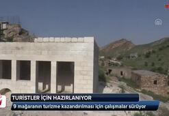 Turistler için Hasankeyfte hazırlanan mağara otel yazın açılıyor