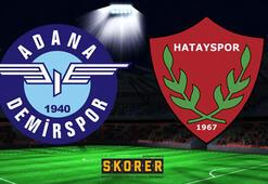 Adana Demirspor-Hatayspor: 0-0