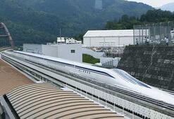 Saatte 600 kilometre hızla gidecek maglev treni tanıtıldı