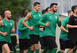 Bursasporda Evkur Yeni Malatyaspor mesaisi