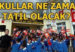Okullar ne zaman tatil olacak 2019 yaz tatili tarihi ve karne günü