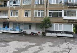 Bu görüntü sonrası Kadıköyde 6 katlı bina boşaltıldı