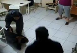 Ormanda aç kalan teröristin yakalanma anı kamerada