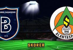 Medipol Başakşehir - Alanyaspor: 1-1