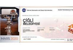 Çiğli, Mars yolcusu