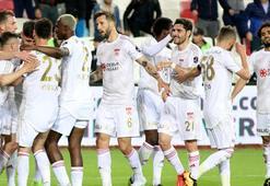 Sivassporun 8 maçlık galibiyet hasreti sona erdi