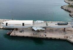 Saros Körfezinde batırılacak dev uçağın montajında sona gelindi