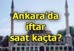 Ankarada iftar saat kaçta 2019 Ramazan imsakiyesi
