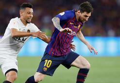 Barcelonayı deviren Valencia şampiyon oldu