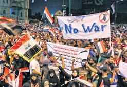 Irak savaş istemiyor