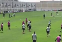Ronaldo durdurulamıyor Antrenmanda...