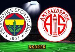 Fenerbahçe - Antalyaspor: 3-1