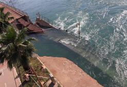 Fırat Nehrinde su seviyesinin yükselmesi yıkıma neden oldu