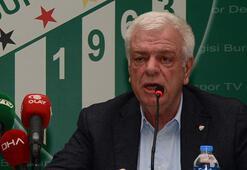 Bursasporda başkan Ali Aya saldırı girişimi