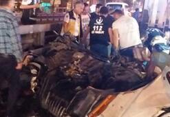 İstanbulda korkunç kaza Dizi setine ait kamyon sürücüsünün önce bacağı koptu sonra...