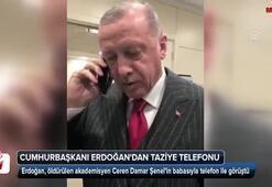 Cumhurbaşkanı Erdoğan, Ceren Damar'ın babasını arayarak tekrar başsağlığı diledi