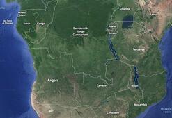 Kongo Demokratik Cumhuriyetinde tekne battı