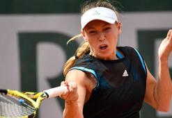 Wozniacki, turnuvaya ilk turda veda etti