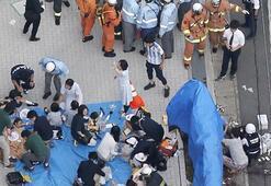 Son dakika: Japonyada bıçaklı saldırı: 2 ölü, 16 yaralı